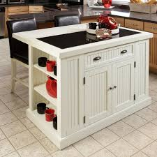 Beautiful Distressed White Board Kitchen Island With Drop Leaf Breakfast Bar Nice Ideas