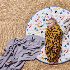 Kip & Co | Quilted Round Baby Play Mat | Magnets | Milk Tooth & Magnets Round Quilted Baby Play Mat by Kip and Co ... Adamdwight.com