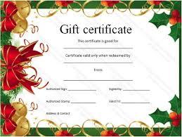 Free Printable Xmas Certificates 323043945454 Free Christmas Gift