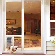 insert large dog door glass door w sliding