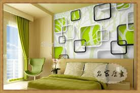 Stylish Bedroom 3d Wallpaper Designs And Ideas