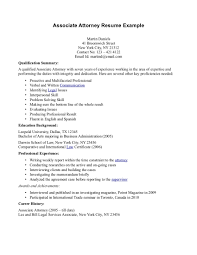 Real Estate Attorney Resume Resume For Your Job Application