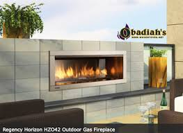 regency hzo42 linear contemporary outdoor vent free gas fireplace