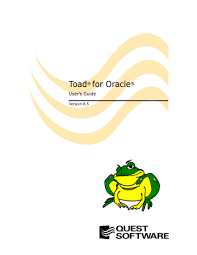 toad 8 5 user s guide manualzz