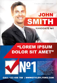 Free Election Campaign Flyer Template Election Flyer