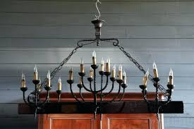 large wrought iron chandeliers large iron chandelier very large country french wood and wrought iron chandelier