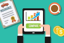 Comparing Car Insurance On Tablet Free Image Download