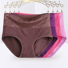 <b>4Pcs</b>/<b>lot</b> Mid waist <b>plus size 5XL</b> Lace sexy lingeries underwears ...