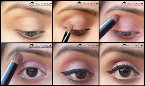 everyday office eyemakeup step by step tutorial final