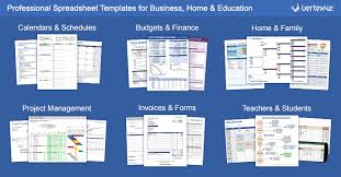 Financial Template For Excel Free Excel Templates And Spreadsheets