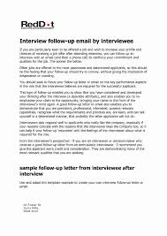 Job Offer Follow Up Email Sample Lovely Job Interview Follow Up