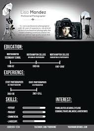 Photographers Resume Sample Photographer Resume Example Template