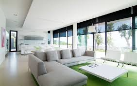 image of white small contemporary house plans