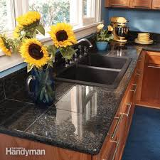 granite countertops how to install granite tile