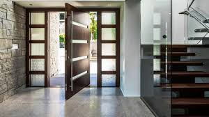 Stunning Modern Entryways With Pivoting Doors YouTube - Exterior pivot door