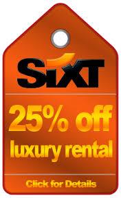 coupon sixt rent a car