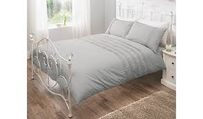 image of pretty duvet cover grey