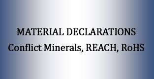Material Declarations Cm Reach Rohs Allied Metal Company