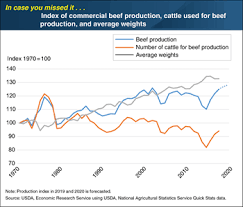 Beef Calf Growth Chart Usda Ers Charts Of Note