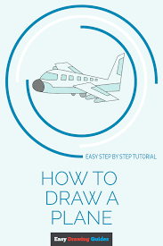 Airplane Drawing How To Draw An Airplane Easy Drawing Guides