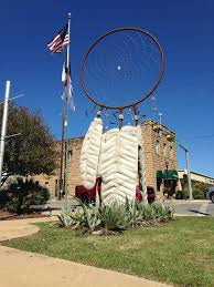 Where To Place Dream Catchers Gorgeous Concrete Dreamcatcher Takes Place Of Honor In Marble Falls Texas