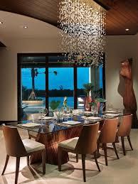contemporary rectangular crystal chandelier