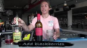 drink of the week blackberry sangria