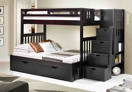 coaster bunk beds full over full coaster twin over full bunk bed