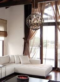 room design with white sofa matched wall tan curtain plus crystorama chandelier ideas solaris lighting group flush mount mini chandeliers ceiling modern