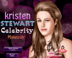 play kristen stewart celebrity makeover for free twilight games cartoongames org