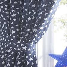 Blue Star, Kids Bedroom Curtains, 72s