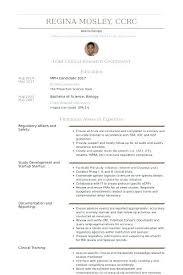 Clinical Research Coordinator Resume Sample Activities Coordinator Resume Newskey Info