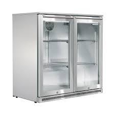 190l double glass door alfresco bar