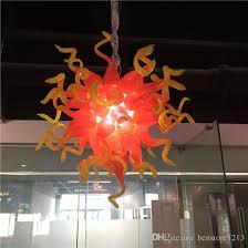 blown glass chandelier pendant lighting led living room lights island pendant lights pendant lights over island from artglassart 502 52 dhgate