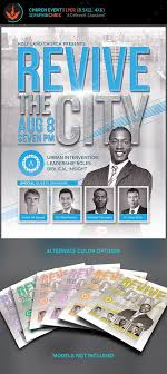 revival flyers templates revive the city church conference flyer template flyer template