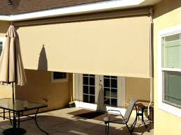patio diy outdoor roller shades sliding door roller shades