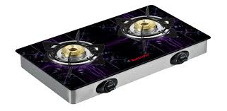 Gas Cooktop Glass Butterfly Reflection 2 Special Edition Tulip Auto Ignition Lpg
