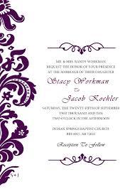 Wedding Invitation Designs Template Diadeveloper Com