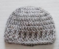 Crochet Newborn Hat Pattern Extraordinary The Parker Crochet Newborn Hat Beanie PATTERN Pdf Instant Etsy