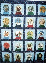 Barbara Brackman's MATERIAL CULTURE: Snow Globe Quilts & Snow Globe Quilts Adamdwight.com