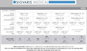 Sigvaris Measurement Chart Sigvaris Midtown Microfiber Knee High Stockings