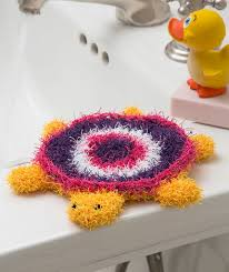 Red Heart Scrubby Yarn Patterns Delectable Turtle Bath Scrubby Red Heart