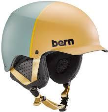 Bern Baker Eps Winter Snowboard Ski Helmet S Matte Khaki