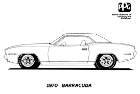 1963 Dodge 440 Car Colouring Pics