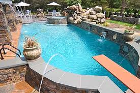 Inground pools Semi Inground Pools Brothers Pool Inground Pools Above Ground Pools In Ct Rizzo Pools