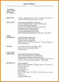 Resume Template Cosmetology Resume Templates Cosmetology Resume
