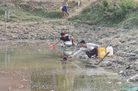 water scarcity in manipur choice or chance by ang reimeingam water scarcity people fetching water on 26 2015 at gwaktabi yaingangpokpi imphal ukhrul