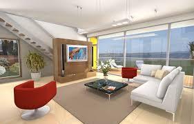 Contemporary Living Room Plan