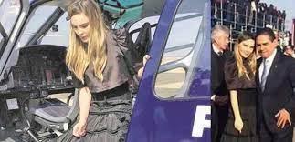 Usaron helicóptero de la SSP Michoacán como taxi de actriz de Televisa en  visita del Papa – NOTIGODÍNEZ