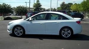 Cruze chevy cruze 2013 eco : 2013 Chevrolet Cruze LTZ Summit White, Burns Chevrolet, Rock Hill ...